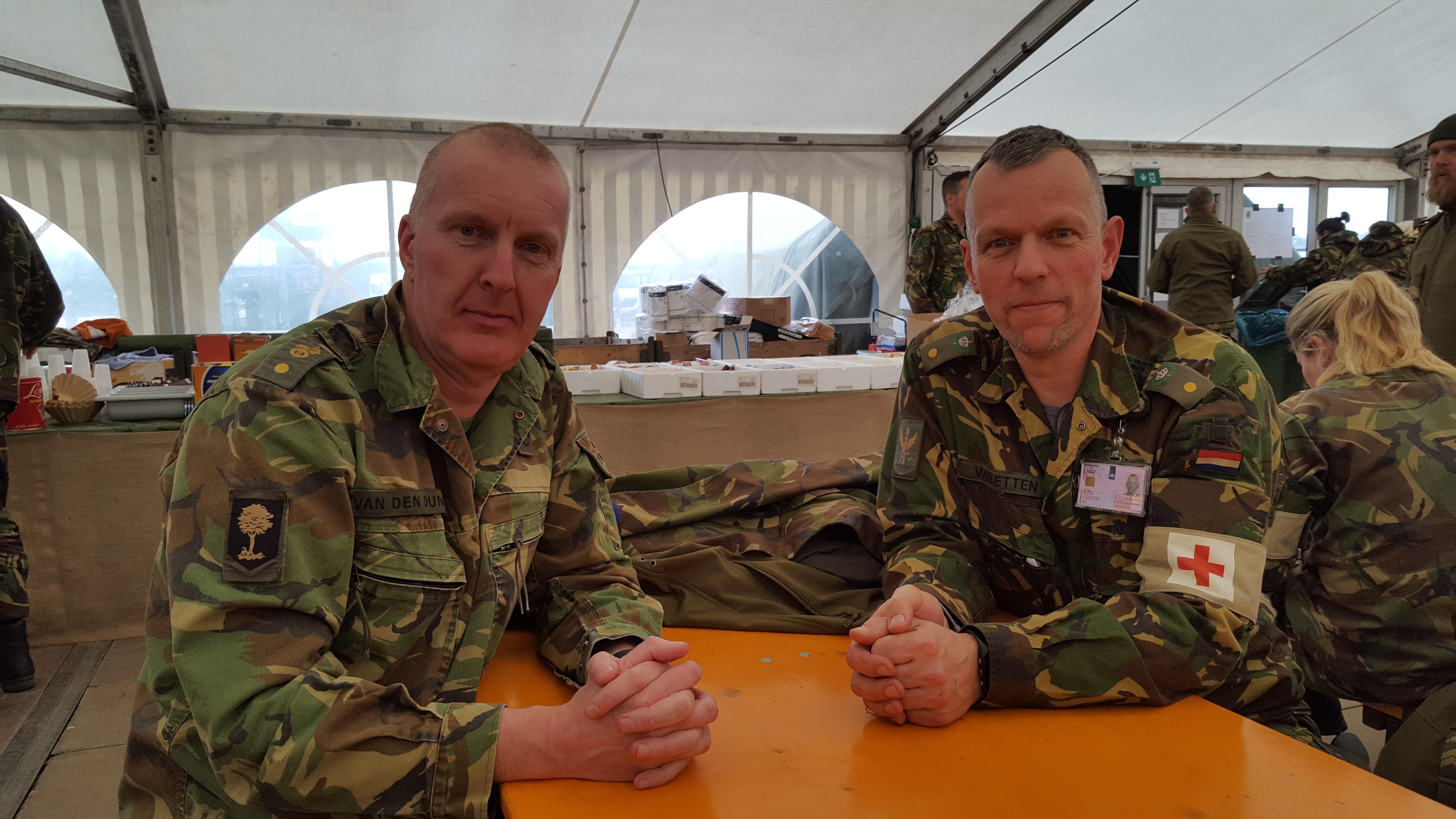 Adjudant Marc van Etten, nieuwe Regimentsadjudant